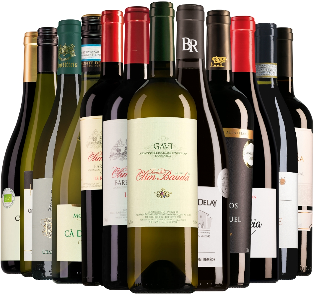 Wijnpakket Wijnbericht oktober (12 flessen)